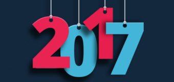 Yeni Yıl 2017 İçin Wallpaper Duvar Kağıdı Çalışmaları