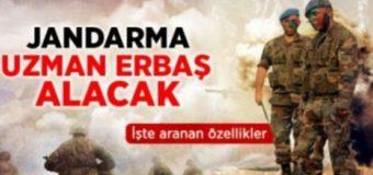 İlkokul Mezunu Jandarma Uzman Erbaş Alımı 2017