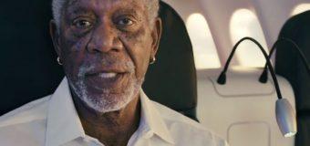 Türk Hava Yolları Reklamında Morgan Freeman