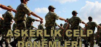 2017 Askerlik Celp Dönemleri, 1997 Doğumluların Askere Gidiş Tarihleri