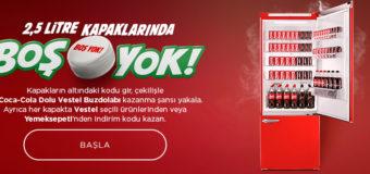 12 Mayıs Coca Cola Vestel Buzdolabı Kazananlar