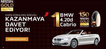 Nescafe Gold BMW 4.20d Cabrio Kazananlar