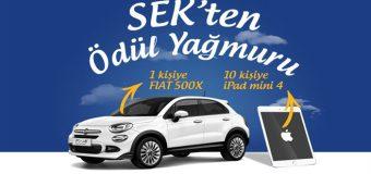 SEK Fiat 500X ve İpad Mini 4 Çekiliş Sonuçları