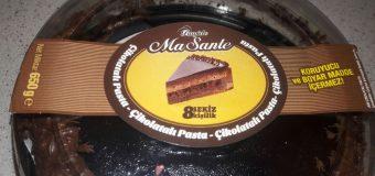 Bim Bugido Ma Sante Çikolatalı Pasta