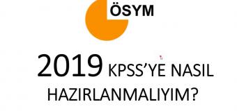 2019 KPSS Sınavında Hangi Kitap ?
